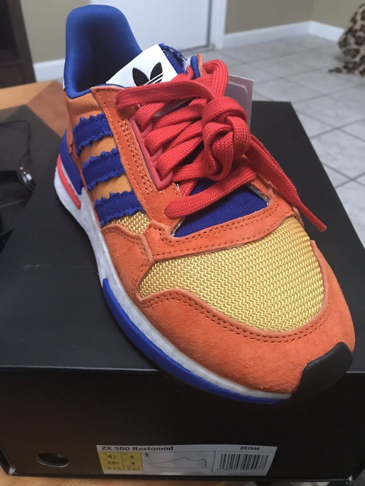 16e08afdee5a6 Limited Edition Adidas x Dragon Ball Z ZX 500
