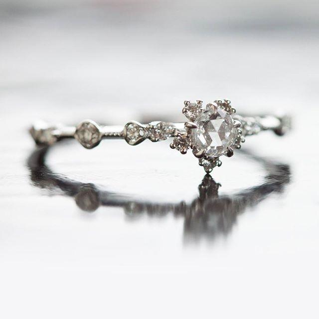 Engagement ring The stunning Sakura ring by Catbirdnyc