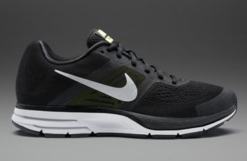 9ed0a77633001 Nike Air Pegasus+ 30 Black Metallic Silver-Volt - Mens Running Shoes ...