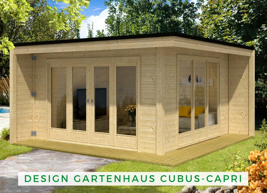 Design Gartenhaus CubusCapri40 Design gartenhaus