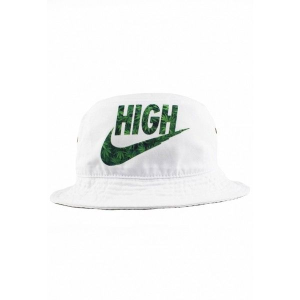 High Bucket Hat - Agora Clothing ($19) ❤ liked on Polyvore featuring accessories, hats, fisherman hat, bucket hat and fishing hat