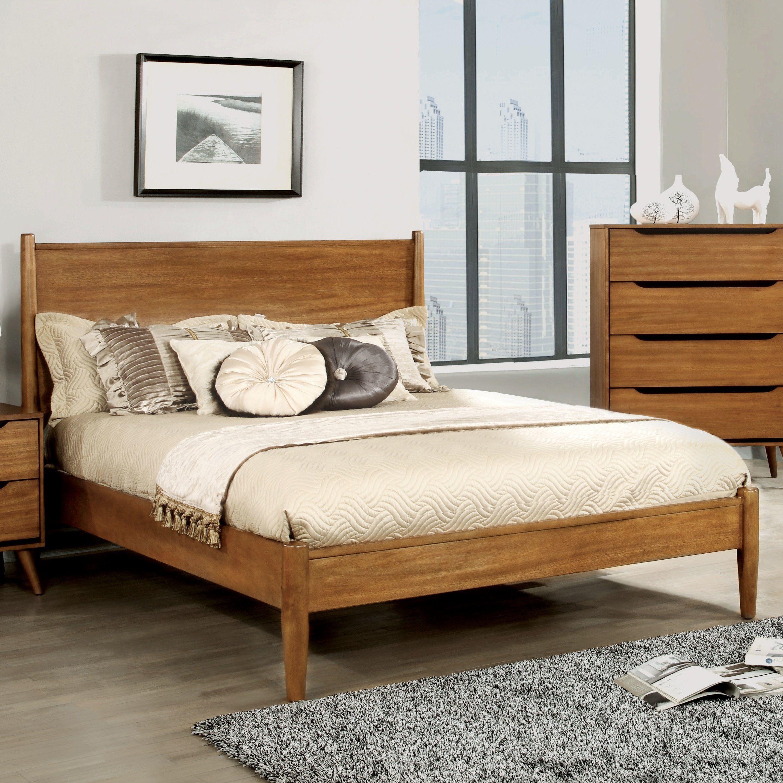 Mercury row mason mid century modern platform bed