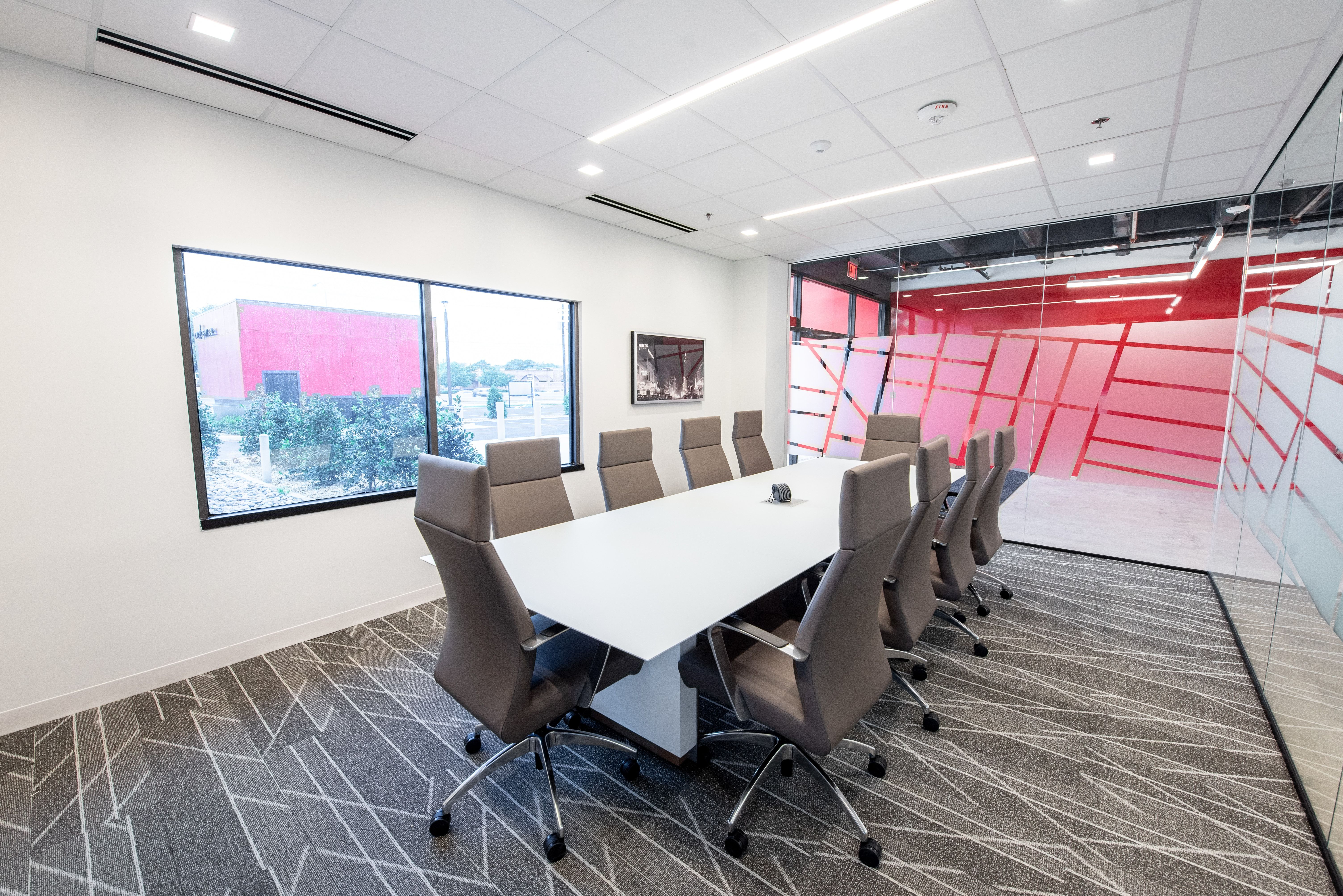 Executive conference room modern fully furnished meeting rooms for rent at our north dallas location