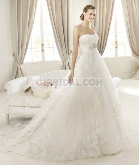 Hot Sale Pronovias Decada Here Buy Cheap Wedding Dresses Online