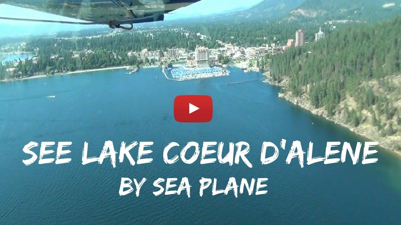 Lake Coeur d'Alene one of the most beautiful lakes in