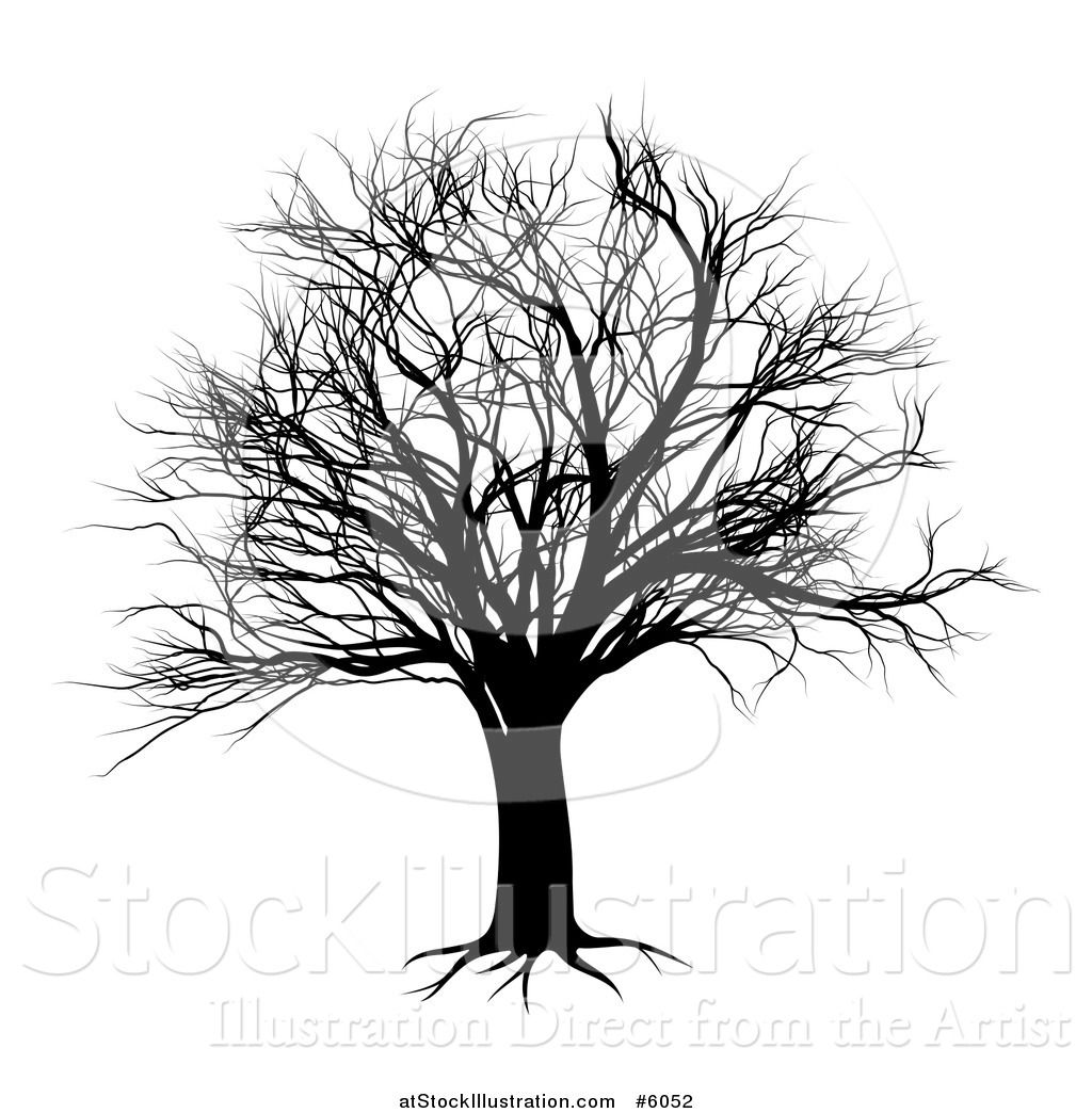 spooky trees silhouette - Google Search