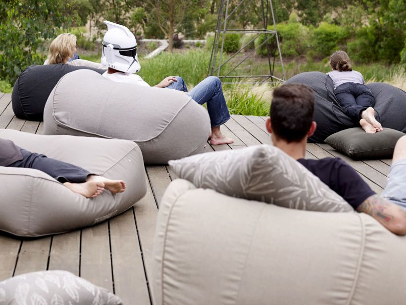 furniture design basics. eco outdoor byron bean bags and chaise in basics fabric furniture patio design