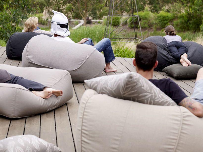 Byron Chaise Beanbags Modern Designer Furniture By Eco Outdoor Outdoor Bean Bag Furniture Design Modern Bean Bags Australia