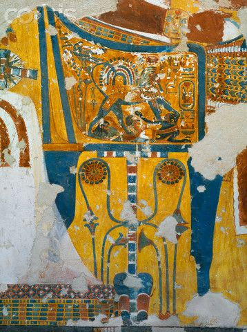 Painting from the Tomb of Aanen