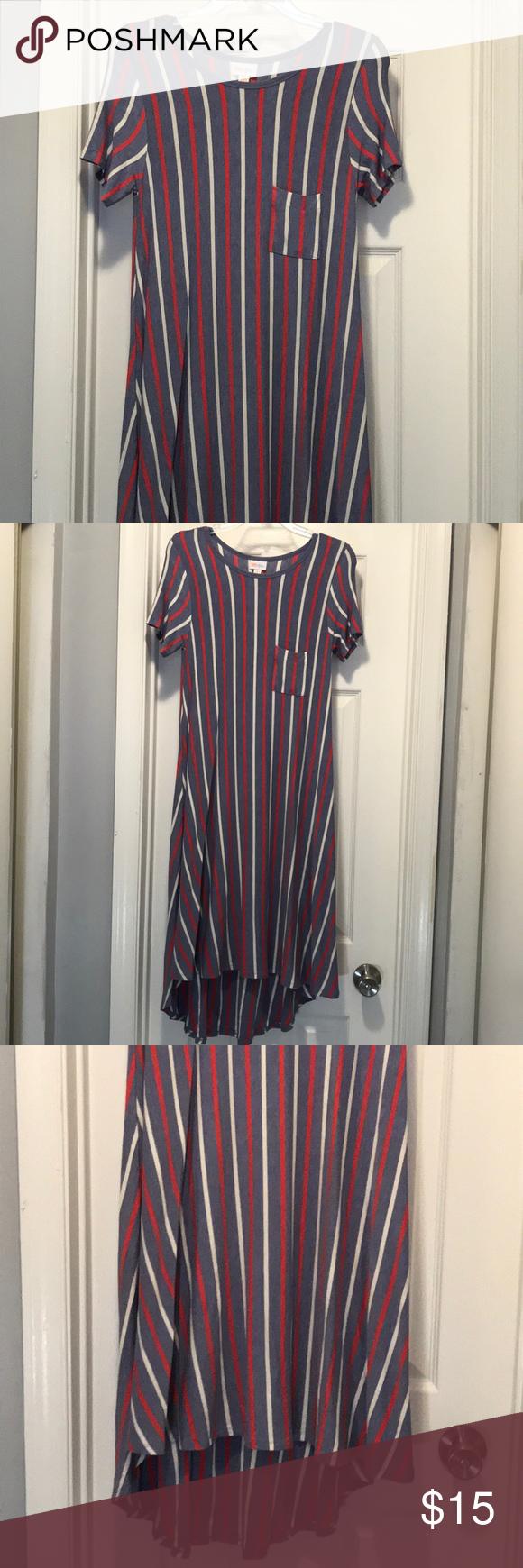 Lularoe midi highlow dress in my posh closet pinterest