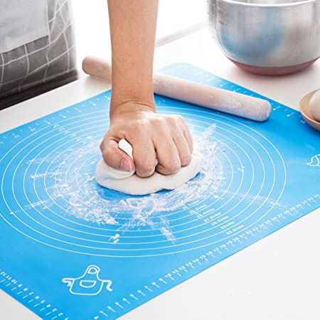 Dough Mat For Pastry Rolling With Measurements Thick Non Stick