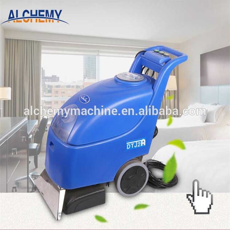 Automatic dry and wet carpet and rug washing cleaning
