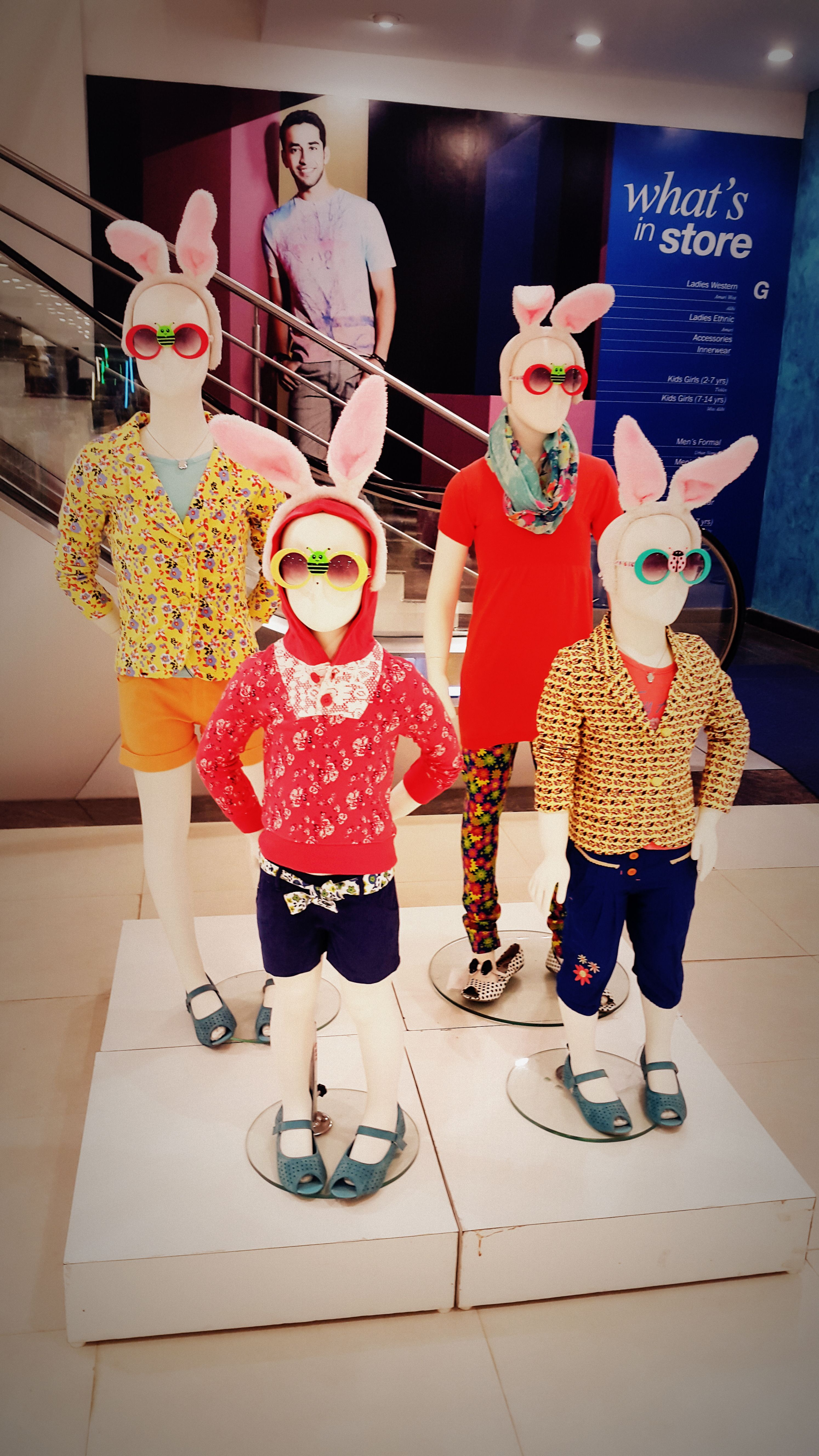 kids cluster-funky styling