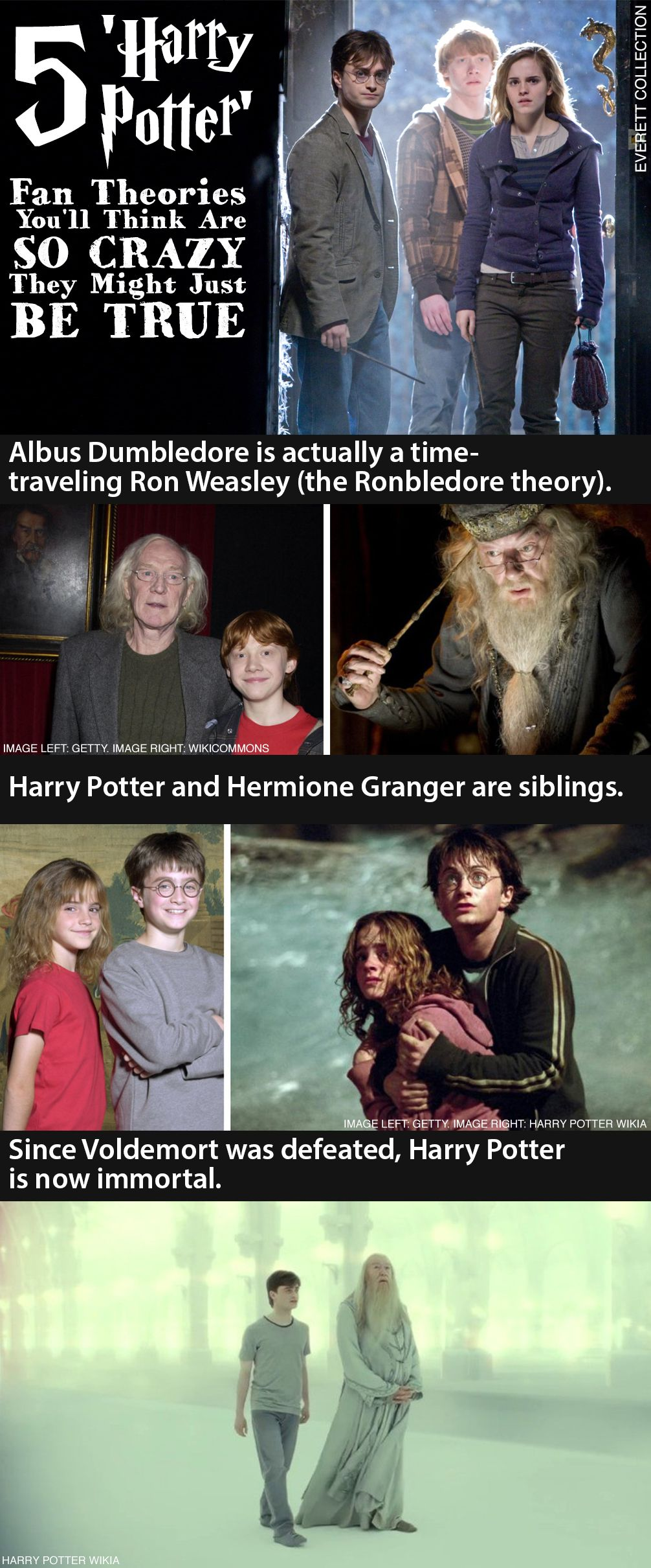 5 Harry Potter Fan Theories So Crazy They Might Just Be True