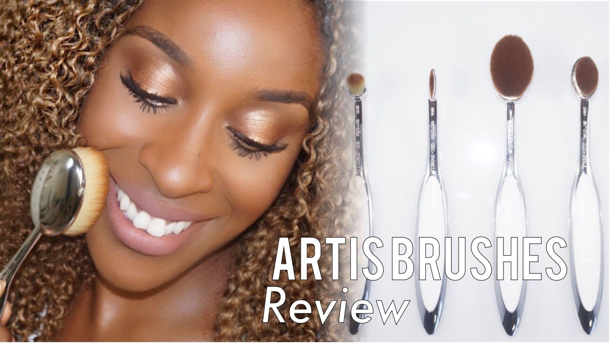 Artis Brushes 1st Impression/Review Jackie Aina Artis