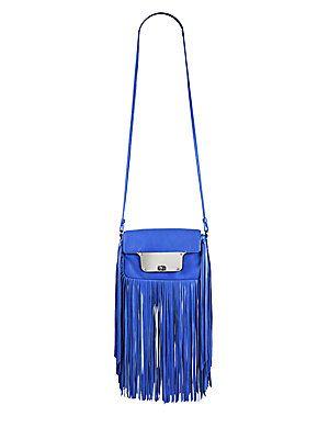 MILLY Isabella Fringe Crossbody Bag