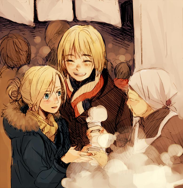 Baca Manga Lv2 Kara Cheat Datta Moto Yuusha Kouho No Mattari Isekai Life: Annie And Armin ~ Date Night. :)