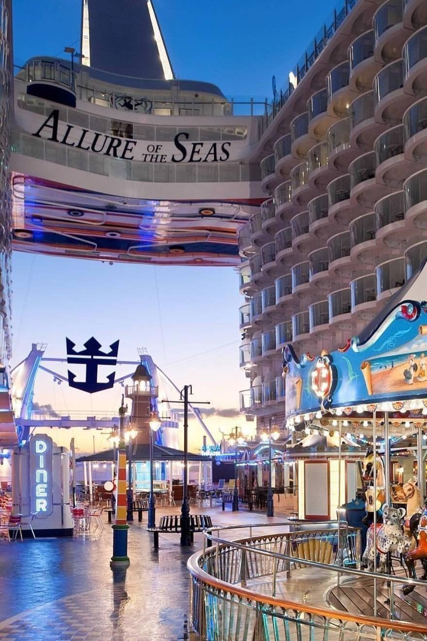 Allure of the Seas | It's a thrill-for-all. Allure of the ...