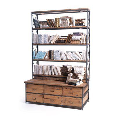 """Loon Peak Ultimate 94"""" Etagere Bookcase"""