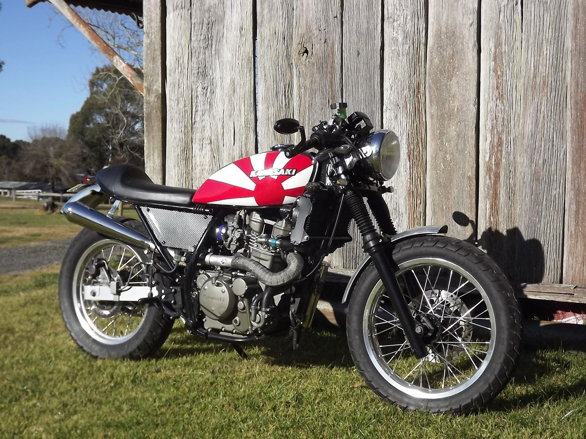Klr 650, Scrambler Motorcycle, Street Tracker, Cafe Racers, Motorbikes,  Cars And