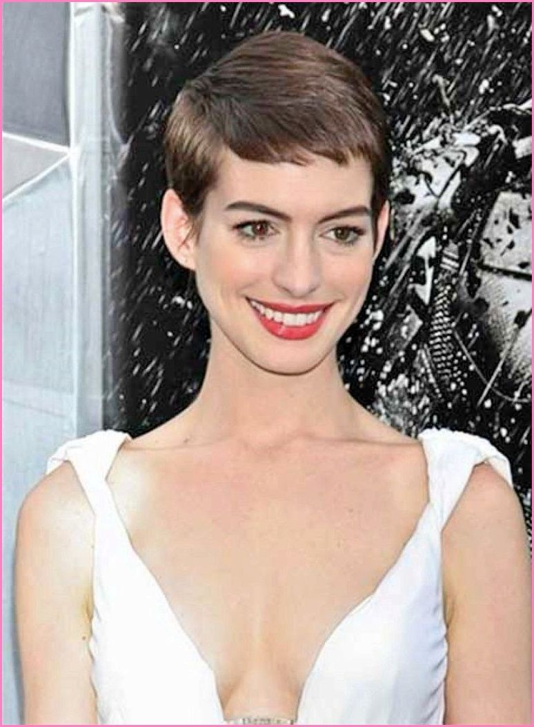 Celebrity Short Haircuts For 2015 The Very Cute Anne Hathaways