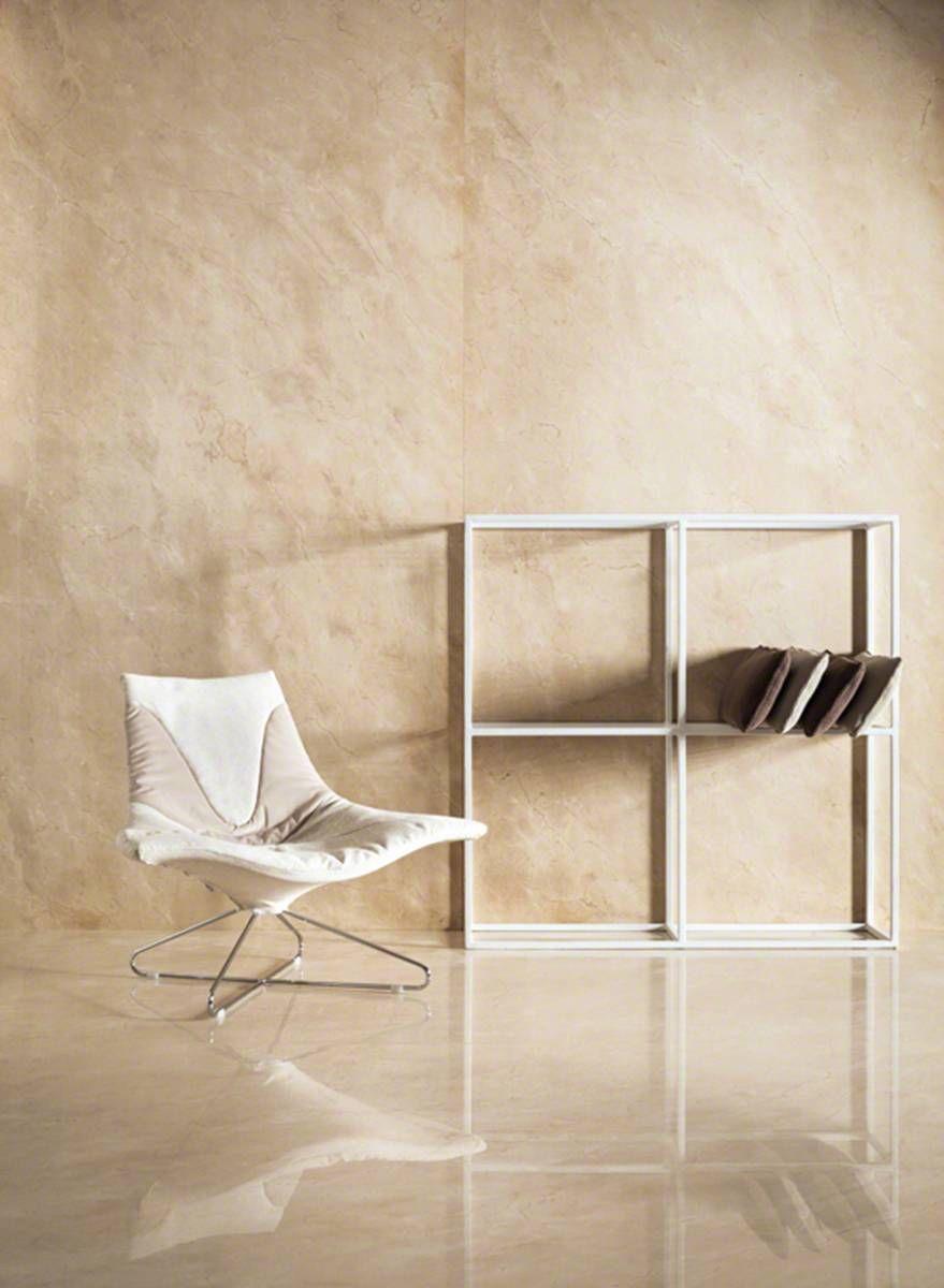 Crema Marfil Polished Living Room Tv Wall Room Flooring Living Room Designs