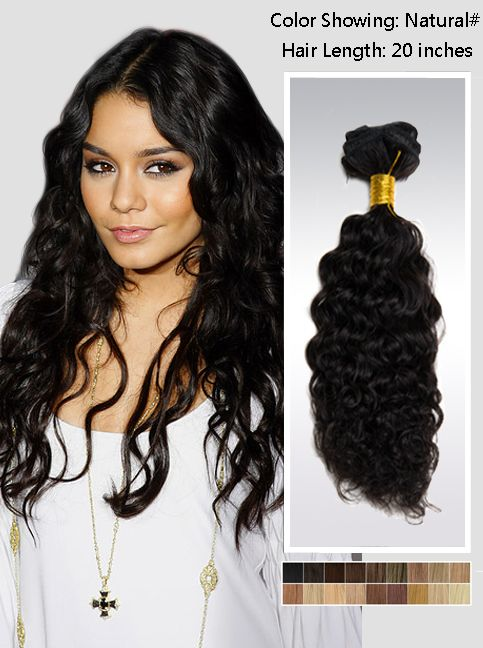 20 Inch Remy Hair Extensions 115g Uscna20 Hair Extensions Black