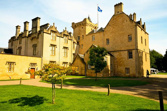 Brodie Castle Moray-shire, Scotland