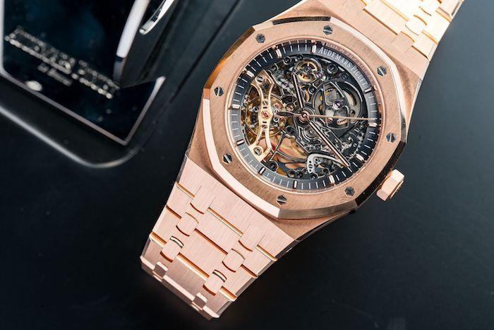 755505f8cd4 Audemars Piguet Royal Oak Skeleton Rose gold. Audemars Piguet Royal Oak  Skeleton Rose gold Relógios De Esqueleto ...