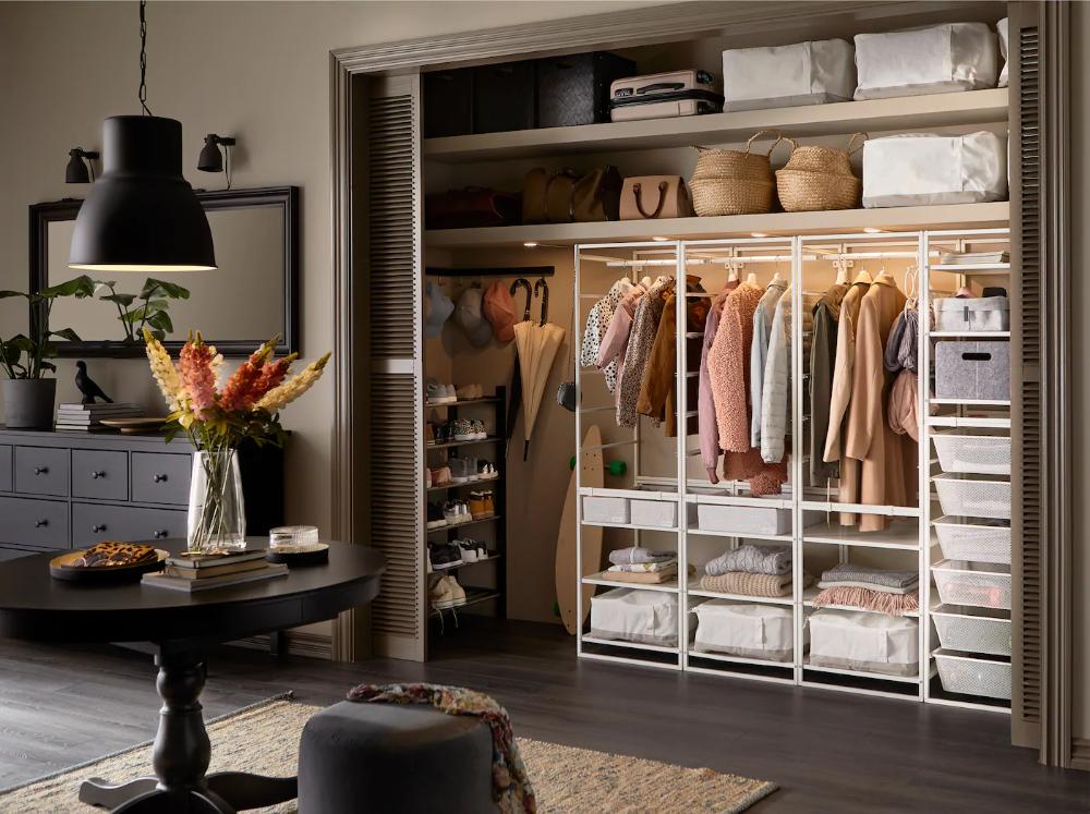 Aufbewahrung Fur Den Flur Fur Mehr Ordnung Ikea Hallway Storage Open Storage