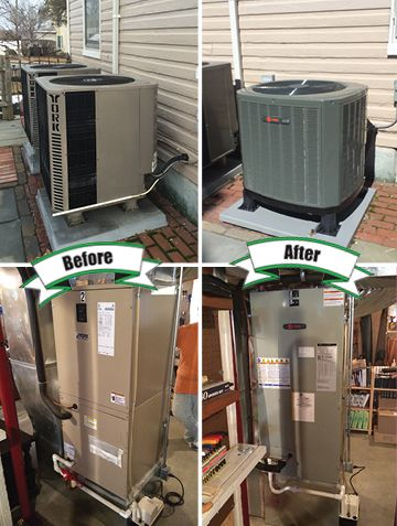From Buckeystown Md This Is A New Trane Xr14 Heat Pump With Tem3 Air Handler Holtzopleheatingandair Air Conditioning Installation Hvac Services Air Handler