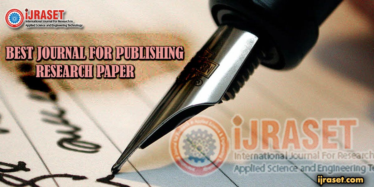 Best Journal For Publishing Research Paper Research Paper Applied Science Scientific Journal
