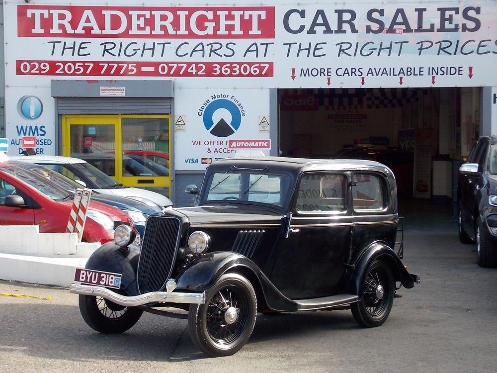 Ebay 1935 Ford Model Y 09 Popular 2 Door Saloon In Phantom