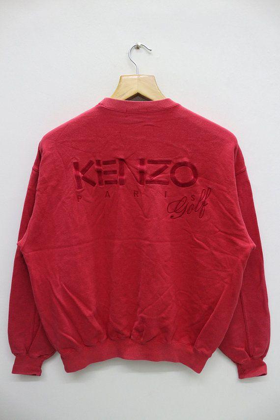 71dd1ca3b Vintage KENZO GOLF Paris Sweatshirt Sweater | Vintage Clothing Mall ...