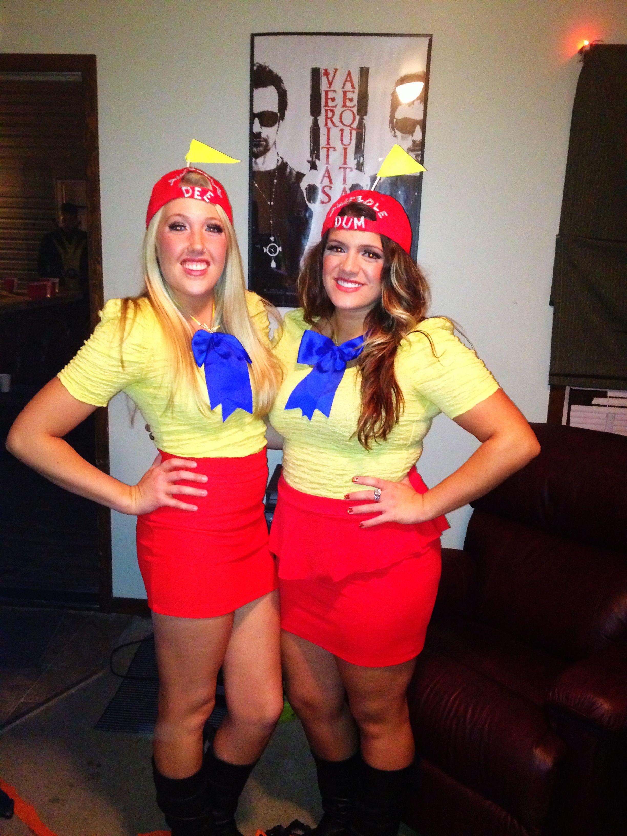 Duo Halloween Costume Ideas.Tweedle Dee And Tweedle Dum Random Duo Halloween