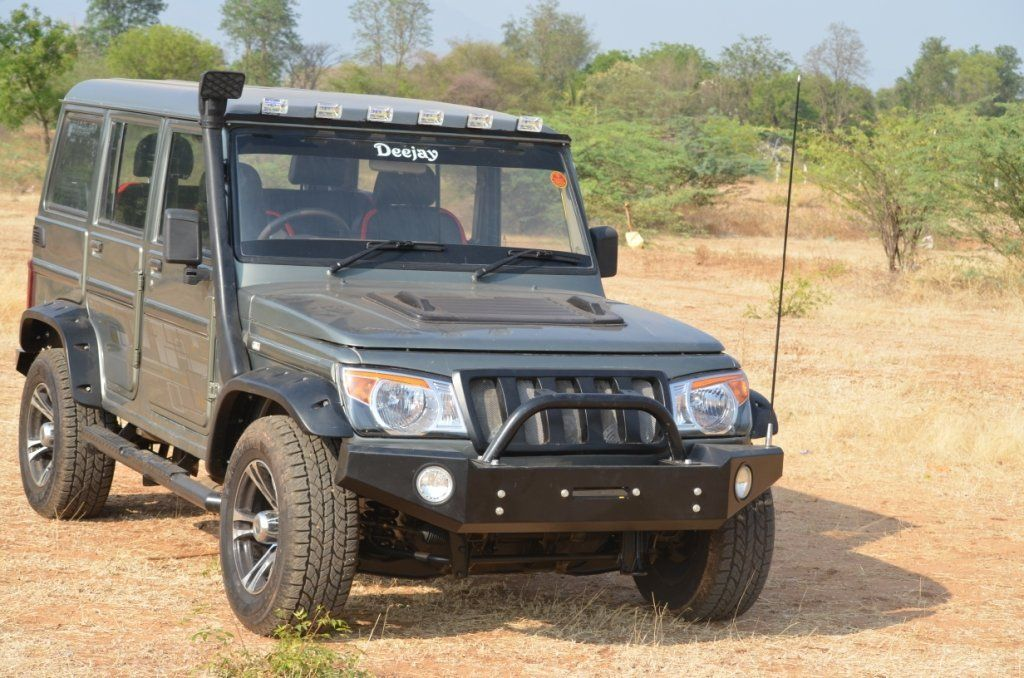 D A Moto Modified Bolero Mahindra Jeep Mahindra Thar Modified