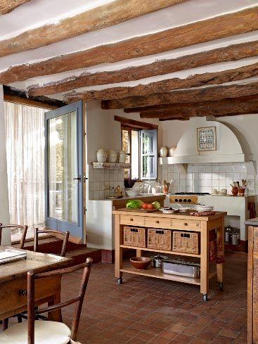 Mueble para isla cocina for Muebles para casa de campo