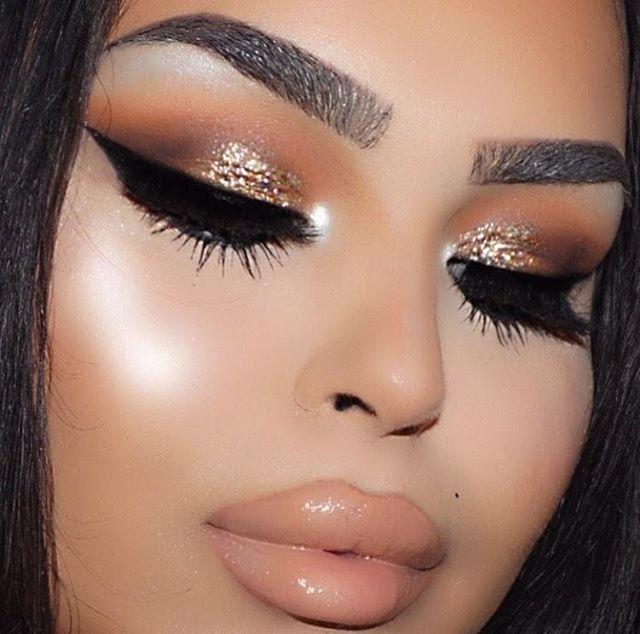 Gold Eyeshadow Gold Eyeshadow Pinterest Gold