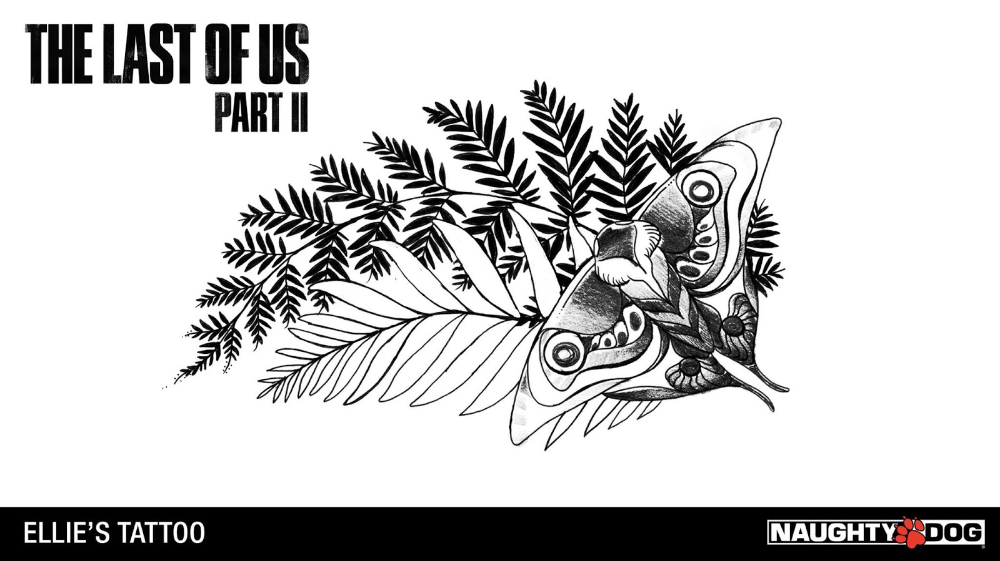 Tatuagem Pode Indicar Que Ellie Continuara Sendo A Cura Em The Last Of Us Part Ii The Last Of Us Brasi Tatuagem De Jogos Tatuagem De Planta Tatuagem De Caras