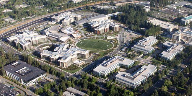 Microsoft Headquarters, Redmond Washington. Part 75