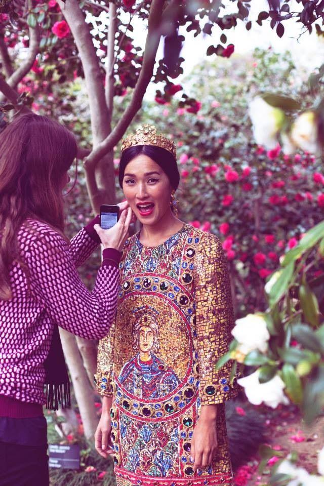 Dolce e Gabbana shoot- first Australian store-Melbourne backstage ...