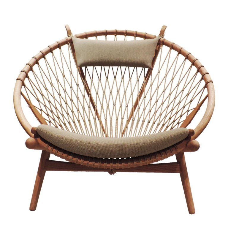 Early Hans J. Wegner PP130 Circle Chair