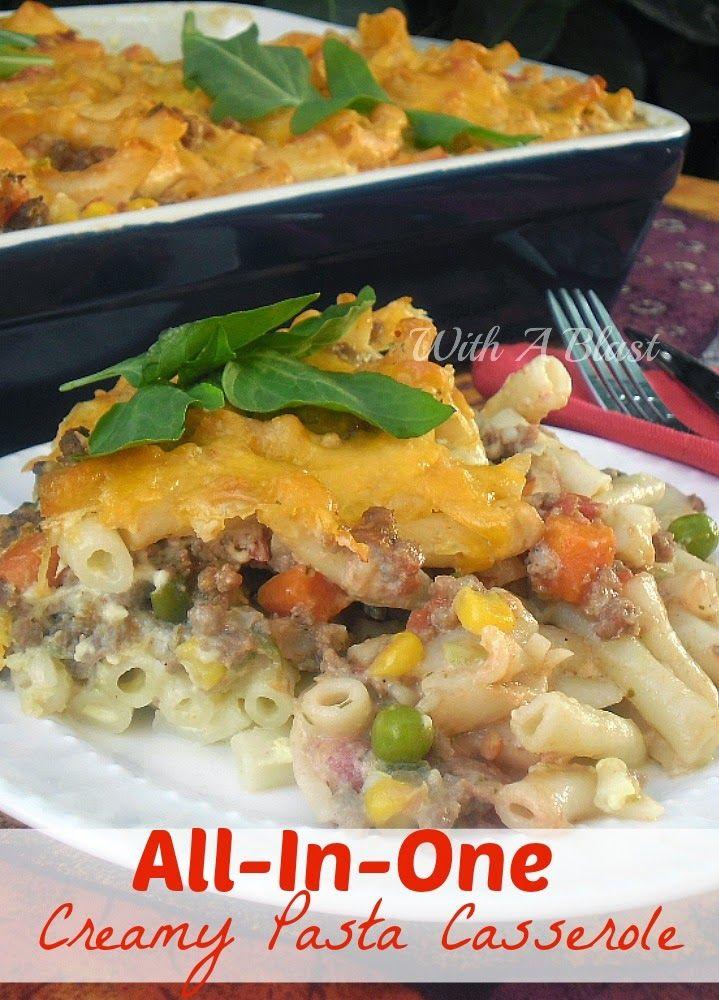 All-In-One Creamy Pasta Casserole