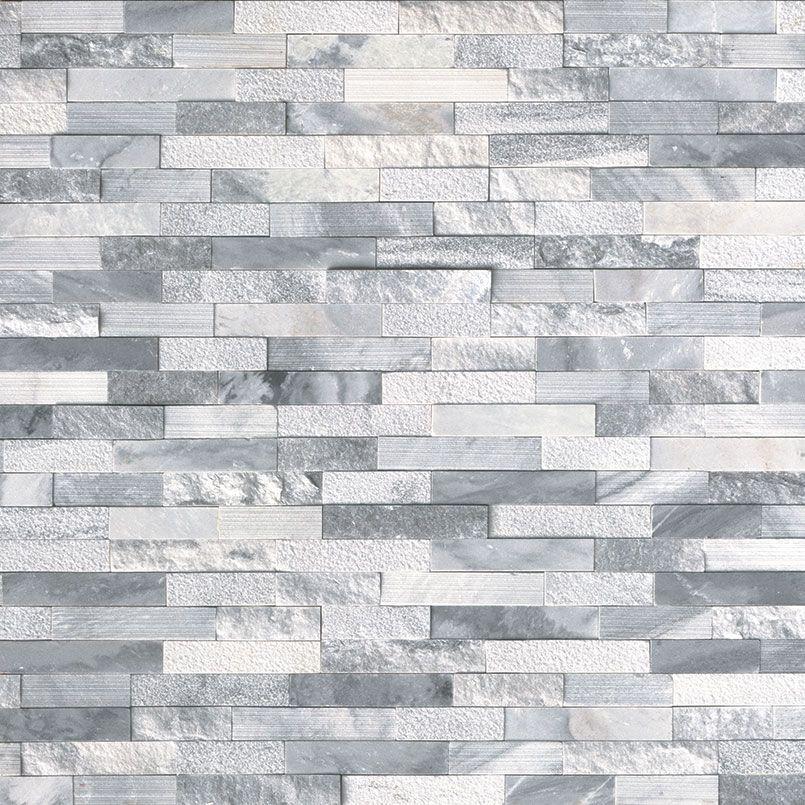 Alaska Gray Multi Finish Stacked Stone Panels