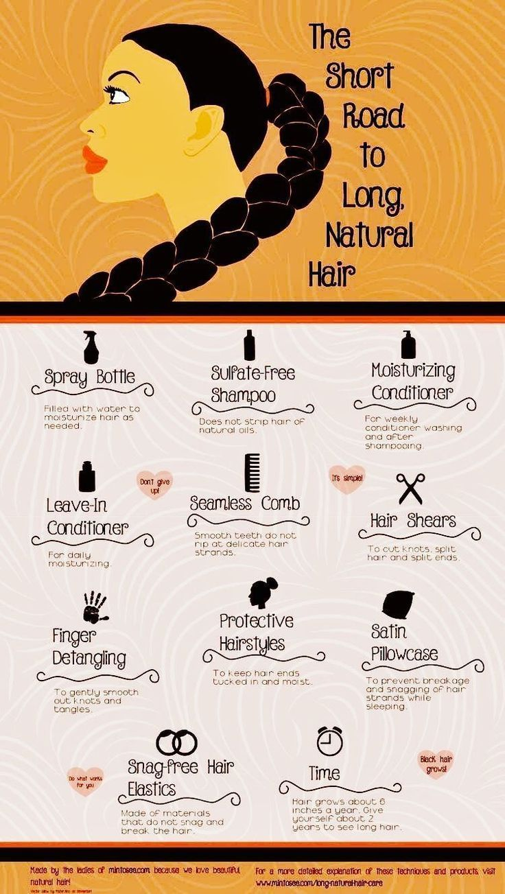 How to get long natural African American hair These hair care tips will show y