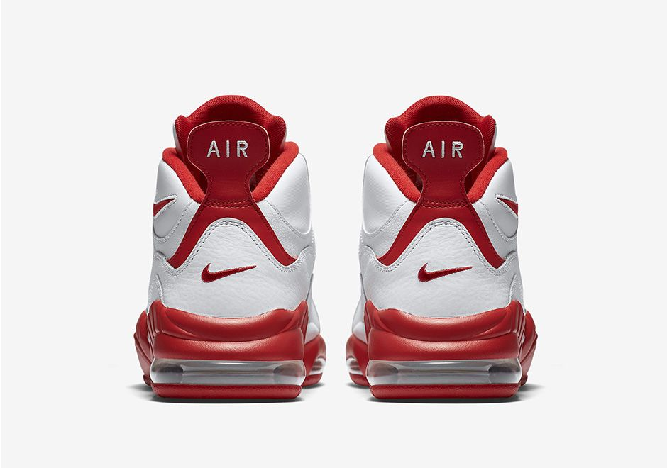 Nike Air Max Sensation Summit White University Red