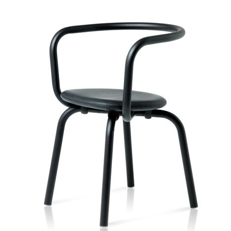 the Parrish collection of chairs and tables by Konstantin Grcic