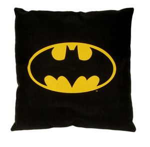 Batman Logo Bat Shaped Pillow DC