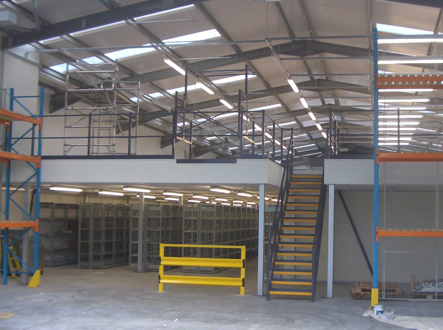 Mezzanine Floor Design when it comes to planning a suitable layout for your storage