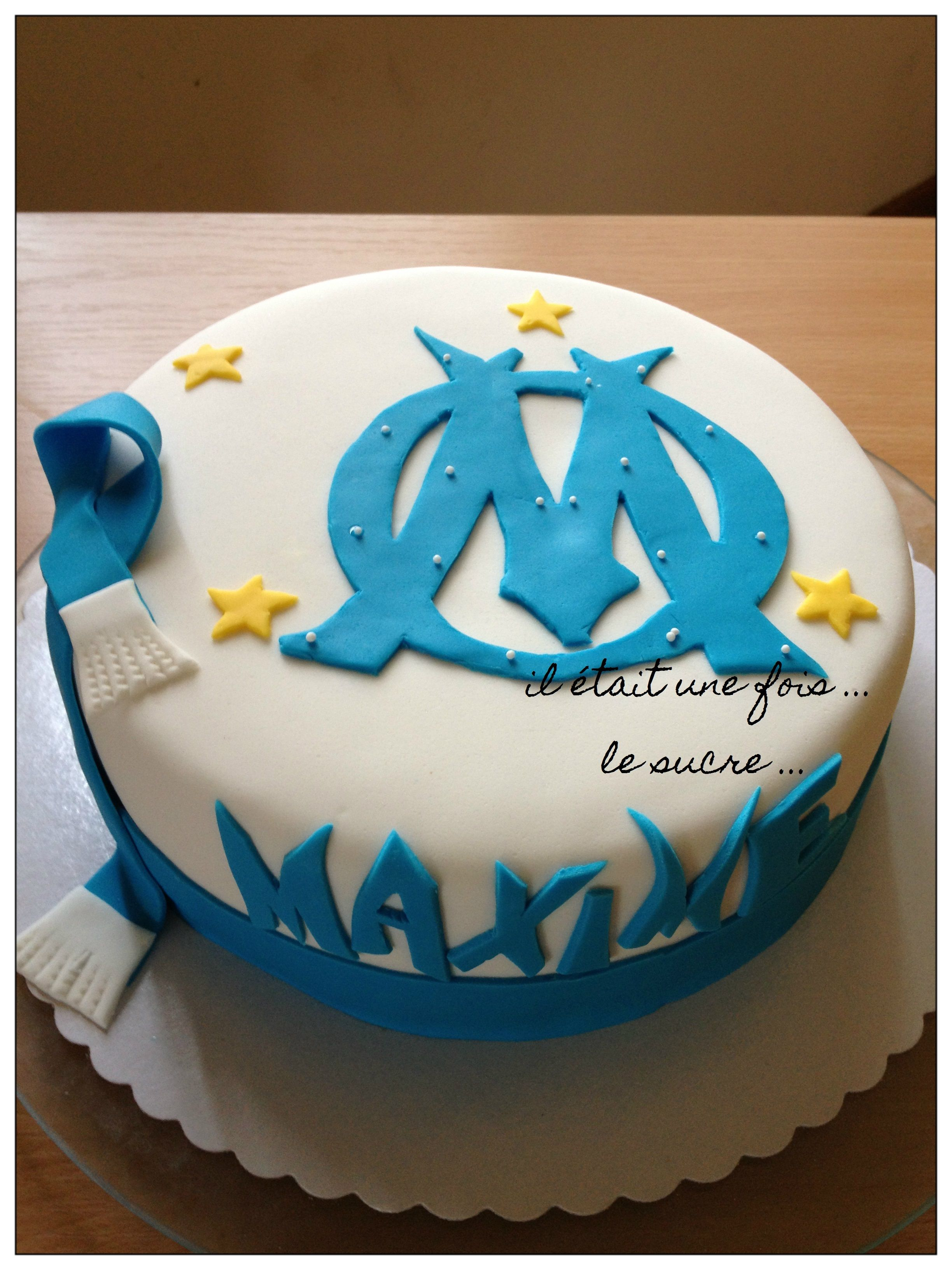 olympique marseille il tait une fois my sweet cakes